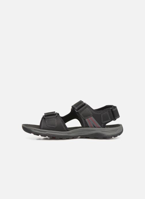 Sandales et nu-pieds Rockport TT 3 Strap Sandal C Noir vue face