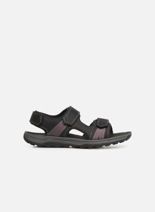 Sandales et nu-pieds Rockport TT 3 Strap Sandal C Noir vue derrière