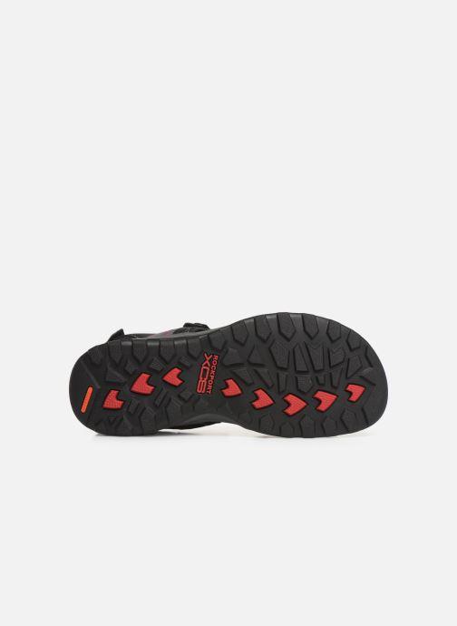 Sandales et nu-pieds Rockport TT 3 Strap Sandal C Noir vue haut
