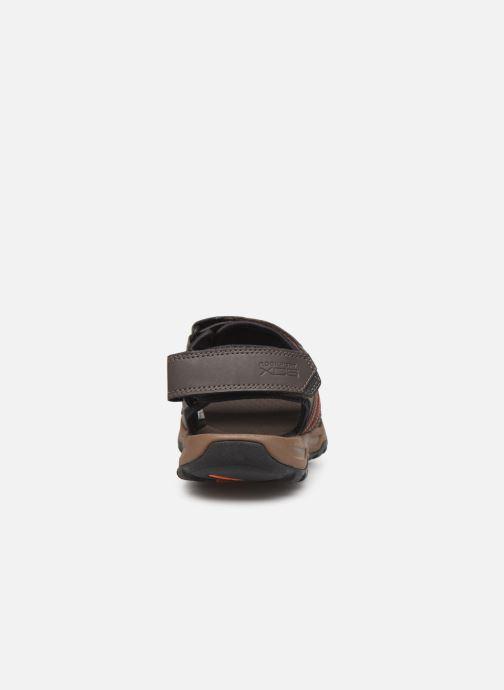 Sandales et nu-pieds Rockport TT 3 Strap Sandal C Marron vue droite