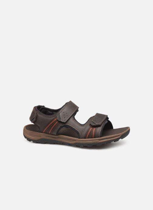 Sandales et nu-pieds Rockport TT 3 Strap Sandal C Marron vue derrière