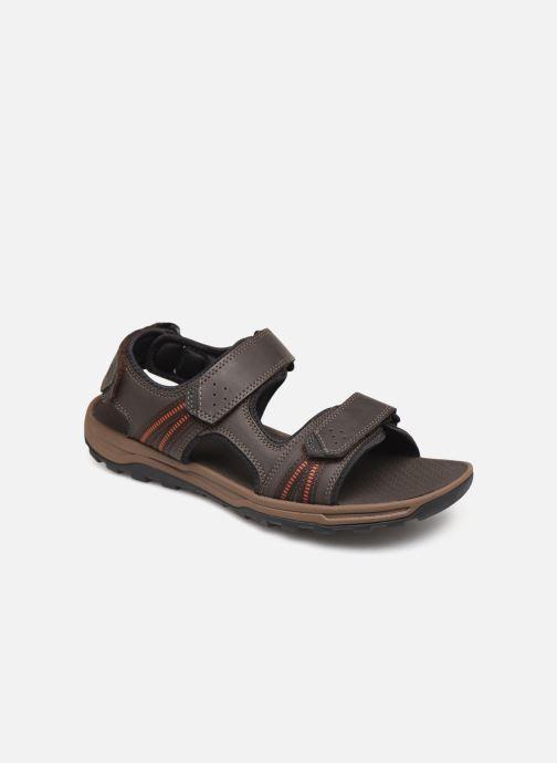 Sandales et nu-pieds Rockport TT 3 Strap Sandal C Marron vue détail/paire