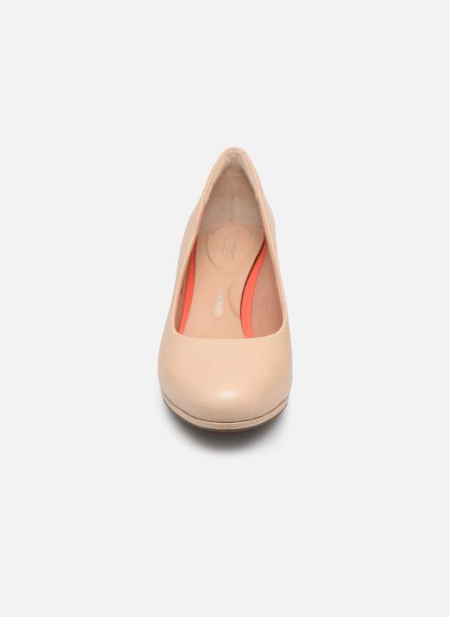Escarpins Rockport TM Leah Pump C Beige vue portées chaussures