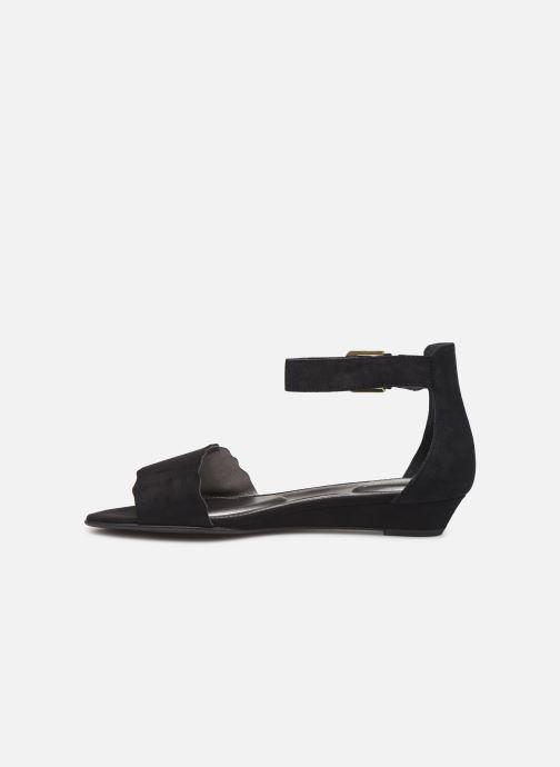 Sandales et nu-pieds Rockport TM Zandra Curve Ank C Noir vue face
