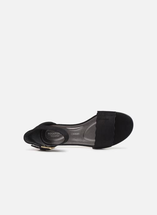 Sandales et nu-pieds Rockport TM Zandra Curve Ank C Noir vue gauche