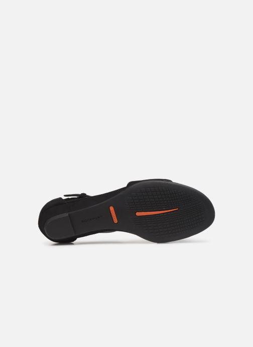 Sandales et nu-pieds Rockport TM Zandra Curve Ank C Noir vue haut