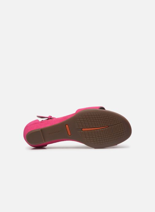 Sandals Rockport TM Zandra Curve Ank C Pink view from above