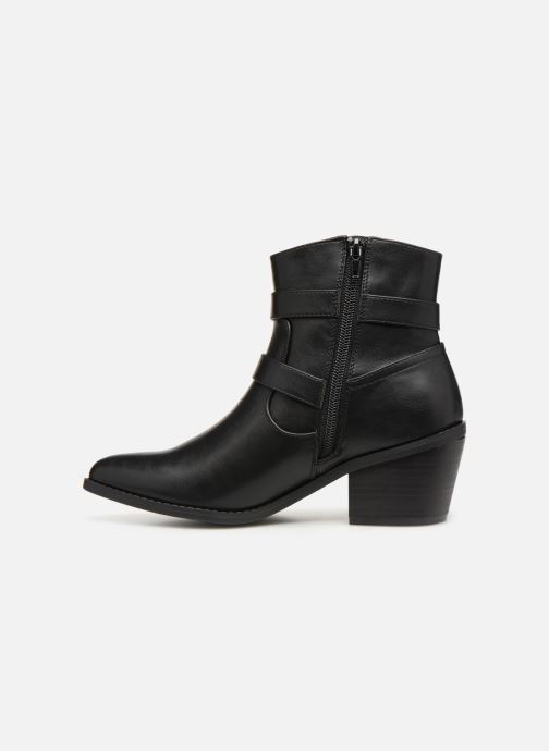 Ankle boots I Love Shoes THETIS Black front view