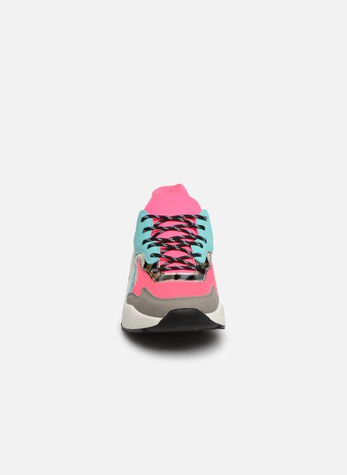 Baskets I Love Shoes THANDEM Multicolore vue portées chaussures