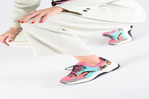 Sneaker I Love Shoes THANDEM gelb ansicht von unten / tasche getragen