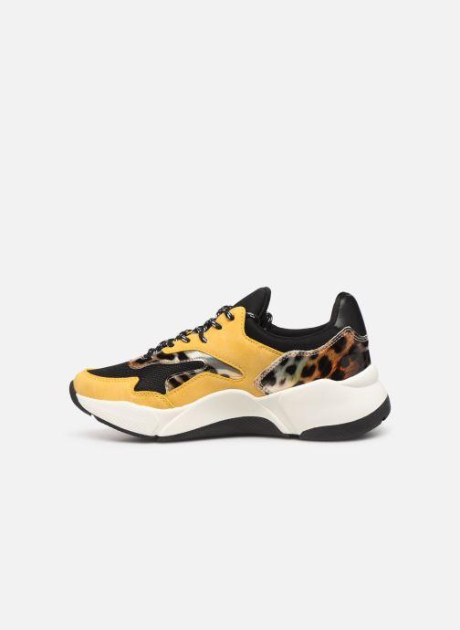 Sneaker I Love Shoes THANDEM gelb ansicht von vorne