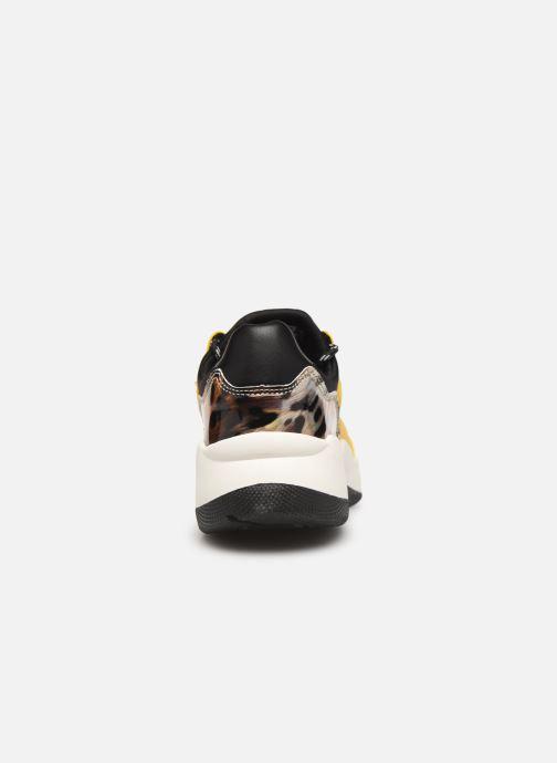 Deportivas I Love Shoes THANDEM Amarillo vista lateral derecha