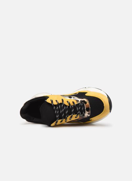 Deportivas I Love Shoes THANDEM Amarillo vista lateral izquierda