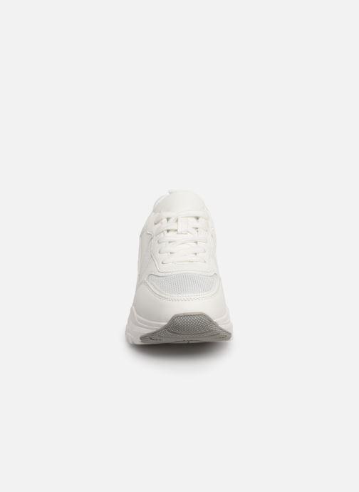 Baskets I Love Shoes THANAGRA Blanc vue portées chaussures