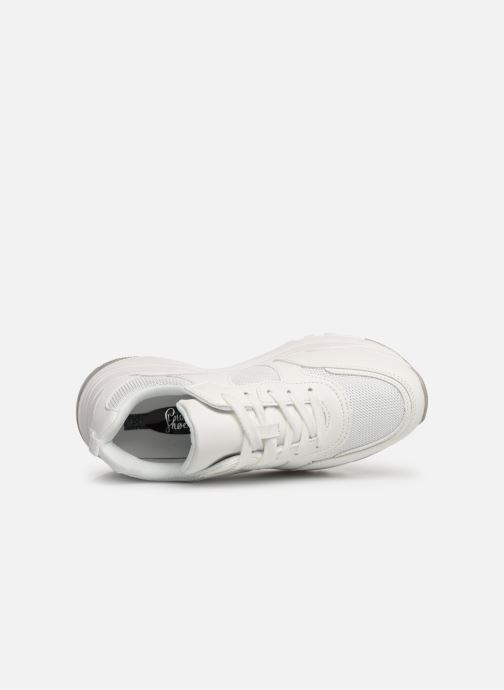 Baskets I Love Shoes THANAGRA Blanc vue gauche