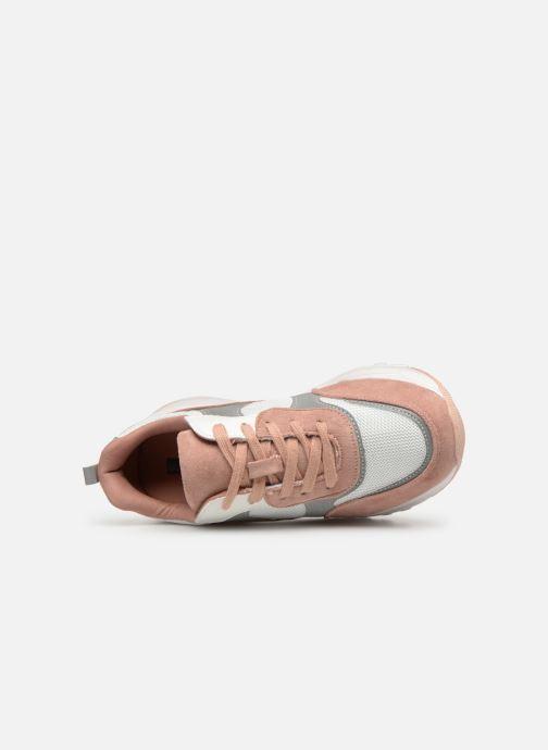 Deportivas I Love Shoes THANAGRA Rosa vista lateral izquierda