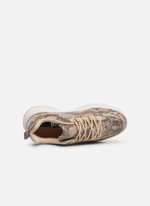 Sneaker I Love Shoes THARA beige ansicht von links