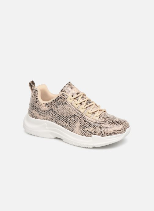 Baskets I Love Shoes THARA Beige vue détail/paire