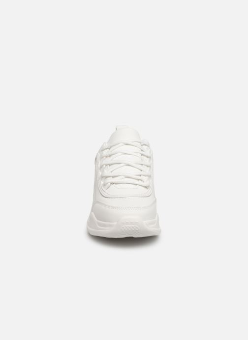 Baskets I Love Shoes THELL Blanc vue portées chaussures