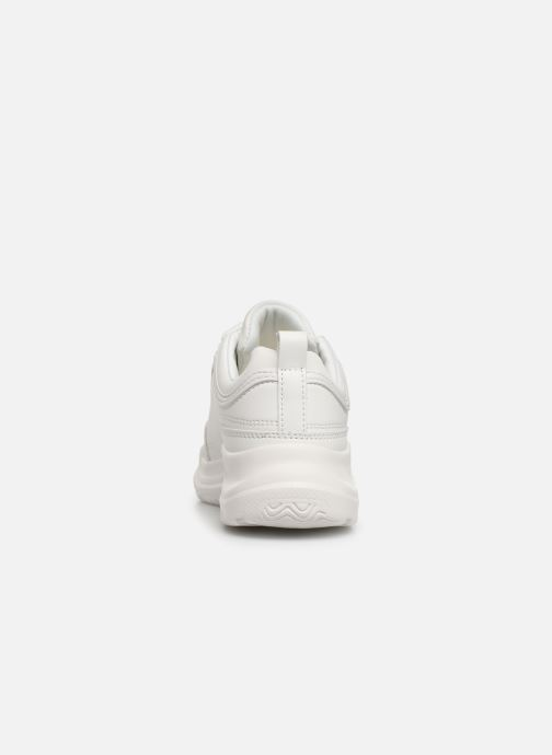 Baskets I Love Shoes THELL Blanc vue droite