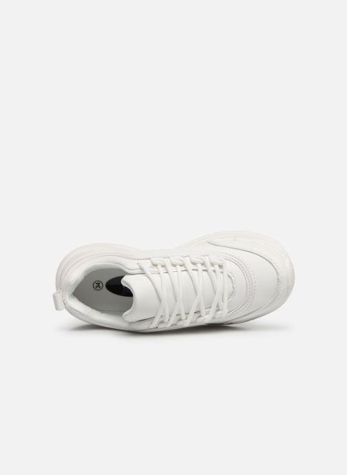 Baskets I Love Shoes THELL Blanc vue gauche