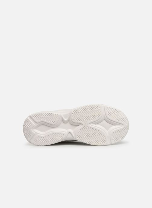 Baskets I Love Shoes THELL Blanc vue haut