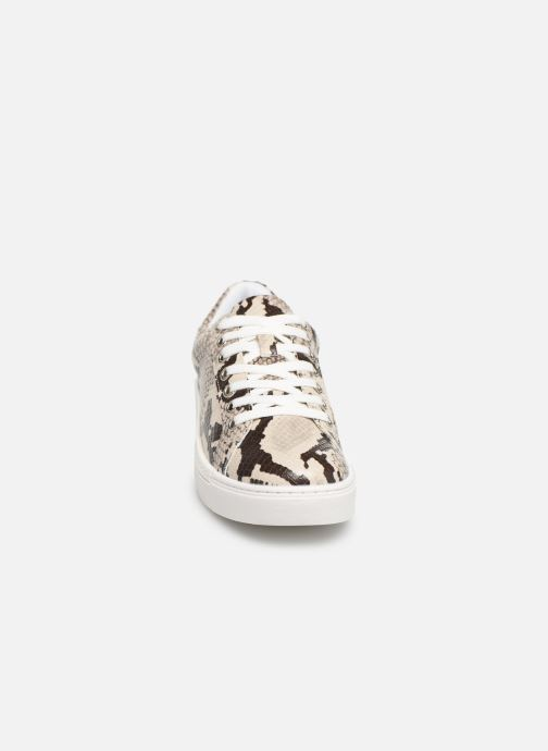 Baskets I Love Shoes THEINE Beige vue portées chaussures