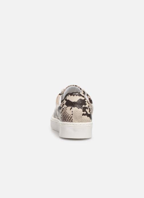 Baskets I Love Shoes THEINE Beige vue droite