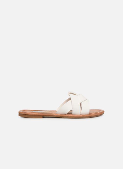 Zuecos I Love Shoes THUTTI Blanco vistra trasera
