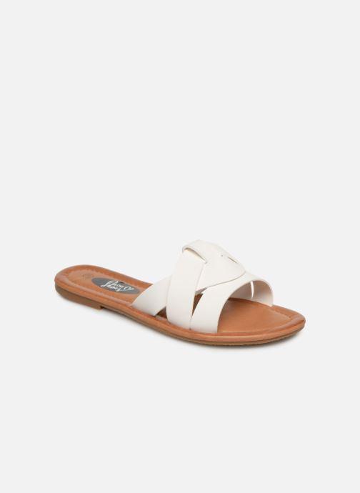 Zuecos I Love Shoes THUTTI Blanco vista de detalle / par