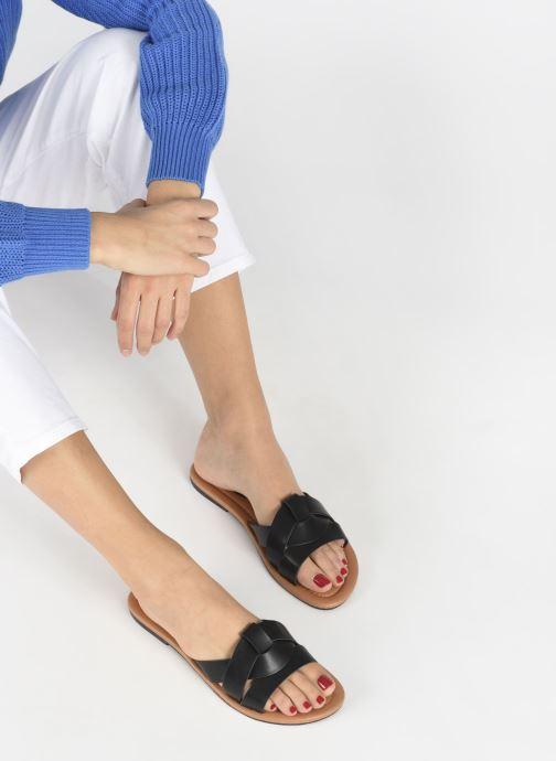 Mules et sabots I Love Shoes THUTTI Noir vue bas / vue portée sac