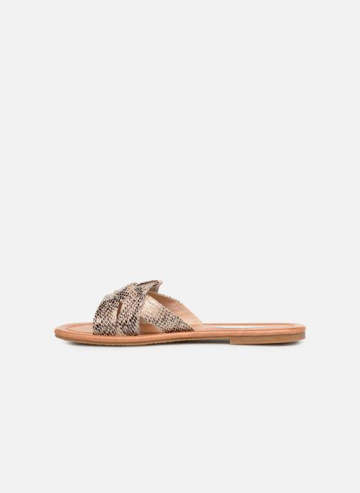 Mules et sabots I Love Shoes THUTTI Beige vue face
