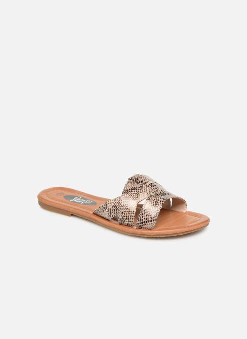 Mules et sabots I Love Shoes THUTTI Beige vue détail/paire