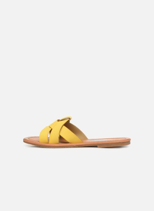 Mules & clogs I Love Shoes THUTTI Yellow front view