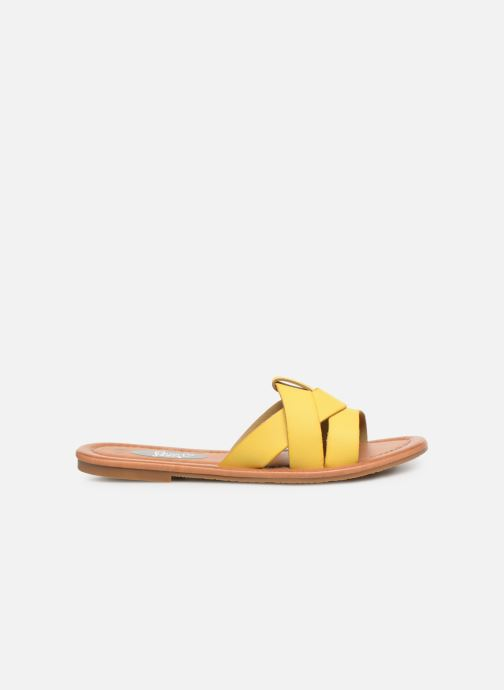 Mules & clogs I Love Shoes THUTTI Yellow back view