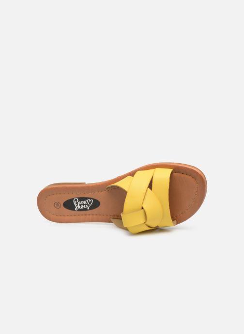 Mules et sabots I Love Shoes THUTTI Jaune vue gauche