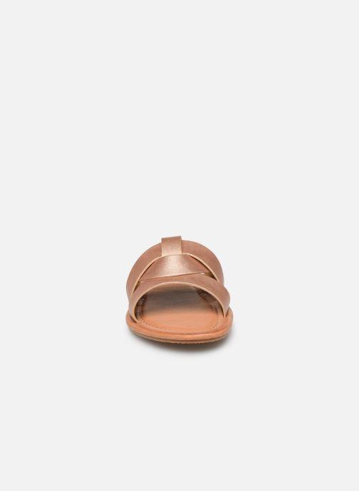 Mules et sabots I Love Shoes THUTTI Rose vue portées chaussures
