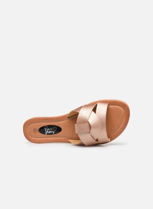 Mules et sabots I Love Shoes THUTTI Rose vue gauche