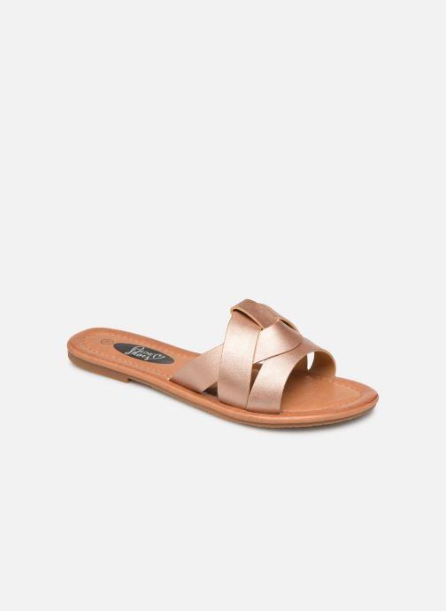 Mules et sabots I Love Shoes THUTTI Rose vue détail/paire