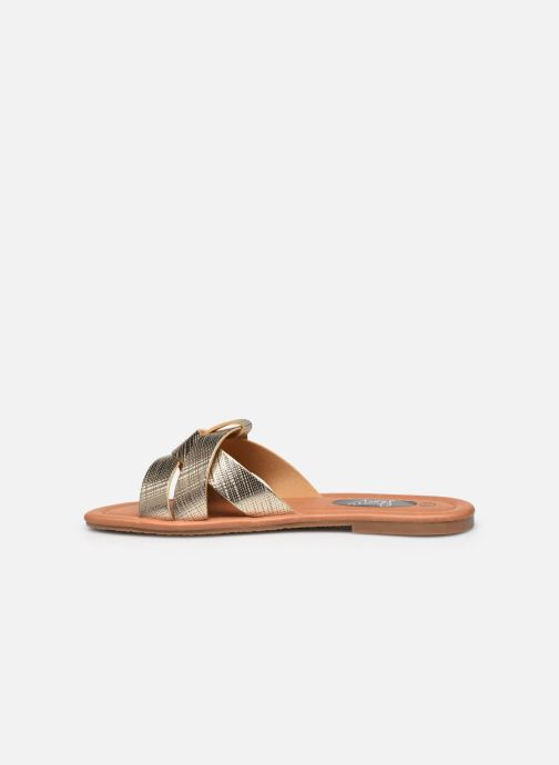 Mules et sabots I Love Shoes THUTTI Or et bronze vue face