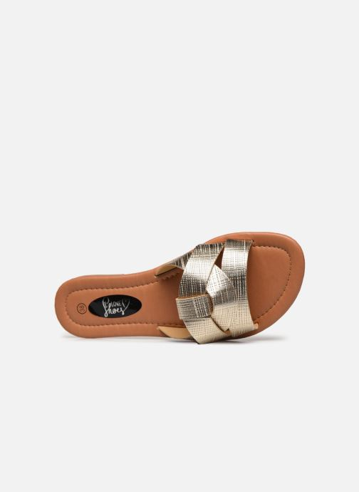 Mules et sabots I Love Shoes THUTTI Or et bronze vue gauche