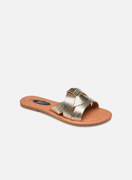 Mules et sabots I Love Shoes THUTTI Or et bronze vue détail/paire