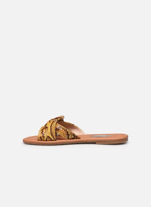 Zuecos I Love Shoes THUTTI Amarillo vista de frente