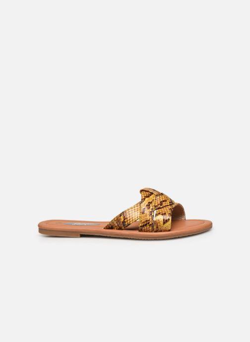Zuecos I Love Shoes THUTTI Amarillo vistra trasera
