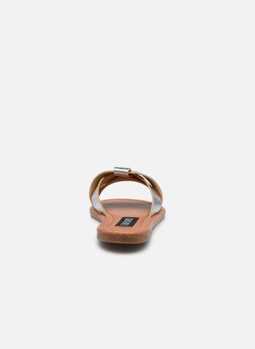 Mules et sabots I Love Shoes THUTTI Argent vue droite
