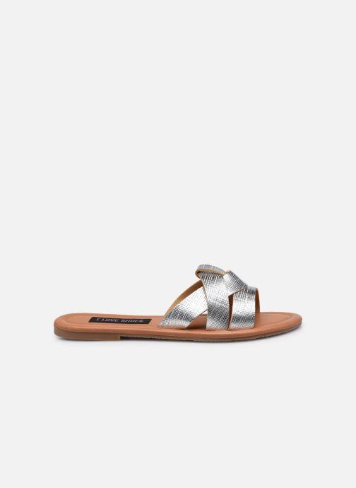 Mules et sabots I Love Shoes THUTTI Argent vue derrière