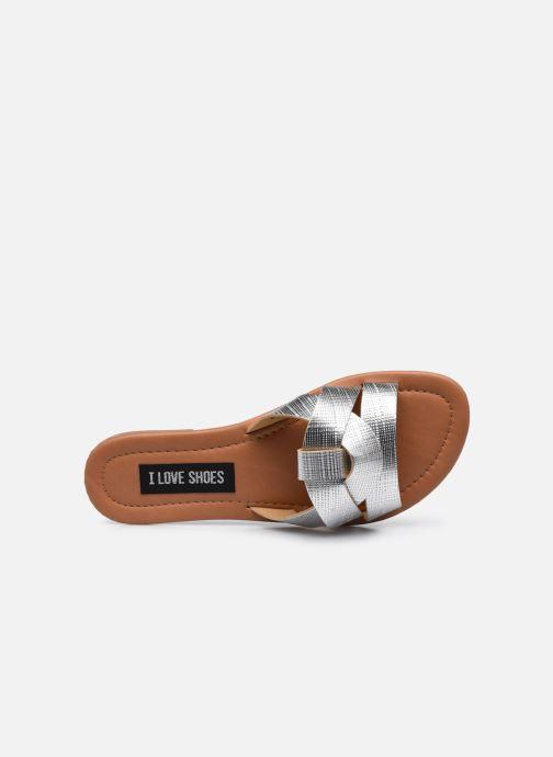 Mules et sabots I Love Shoes THUTTI Argent vue gauche