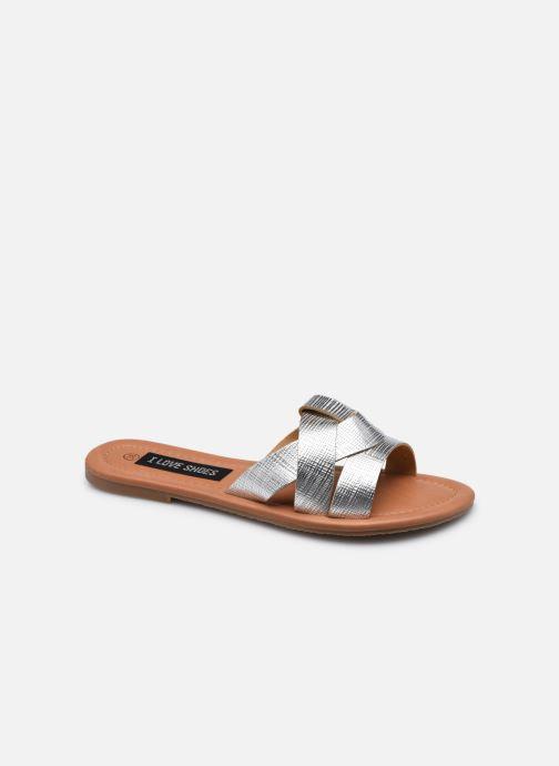 Mules et sabots I Love Shoes THUTTI Argent vue détail/paire