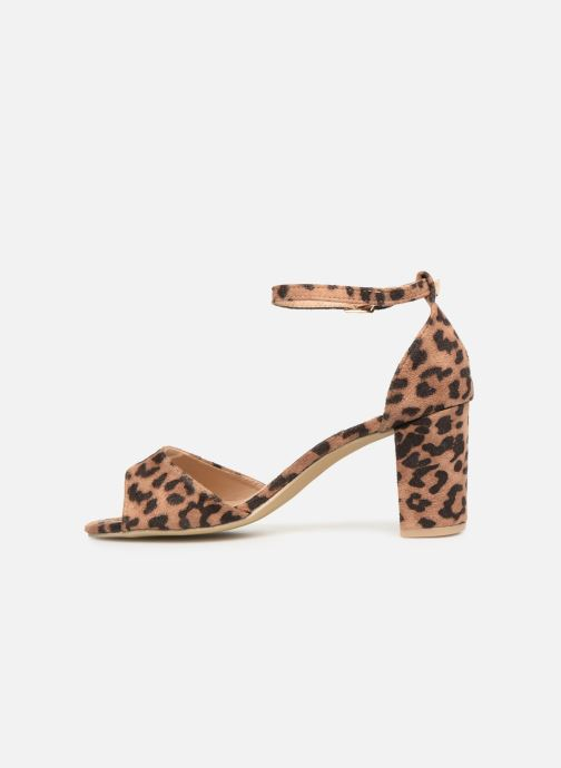 Sandalias I Love Shoes THITAN Marrón vista de frente