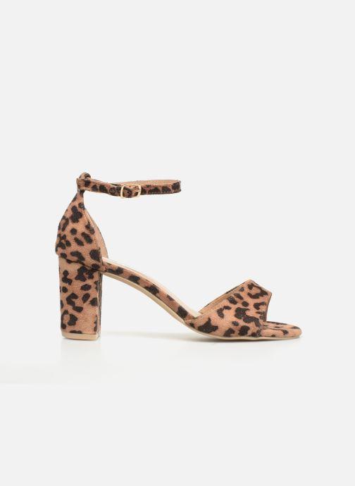 Sandalias I Love Shoes THITAN Marrón vistra trasera